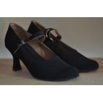 Black Suede Ballroom Shoes